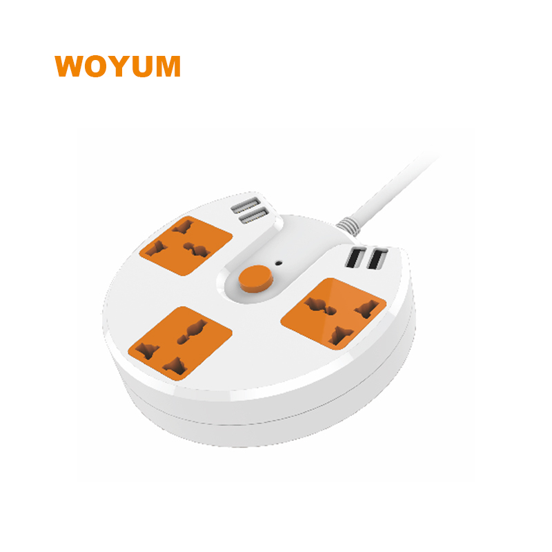 multifunction power strip with usb chraging ports